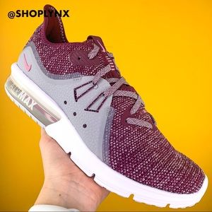 Nike Air Max Sequent 3 Bordeaux Rose Sneaker